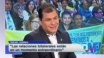 """Entrevista al Presidente Rafael Correa en el programa """"Los desayunos de TVE"""""""