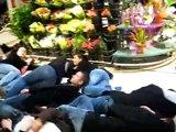 """""""Mort"""" des étudiants - IUT Lannion - Action anti-LRU - 10/03/2009"""