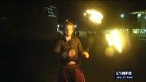 Jongleurs de feu : Spectacle de feu au Mans
