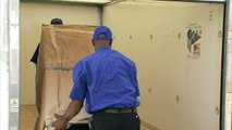 How to pack a portable storage unit from United Van lines and Andrews Moving.