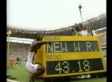 Michael Johnson - 400m World Record - 43.18 s (1999)