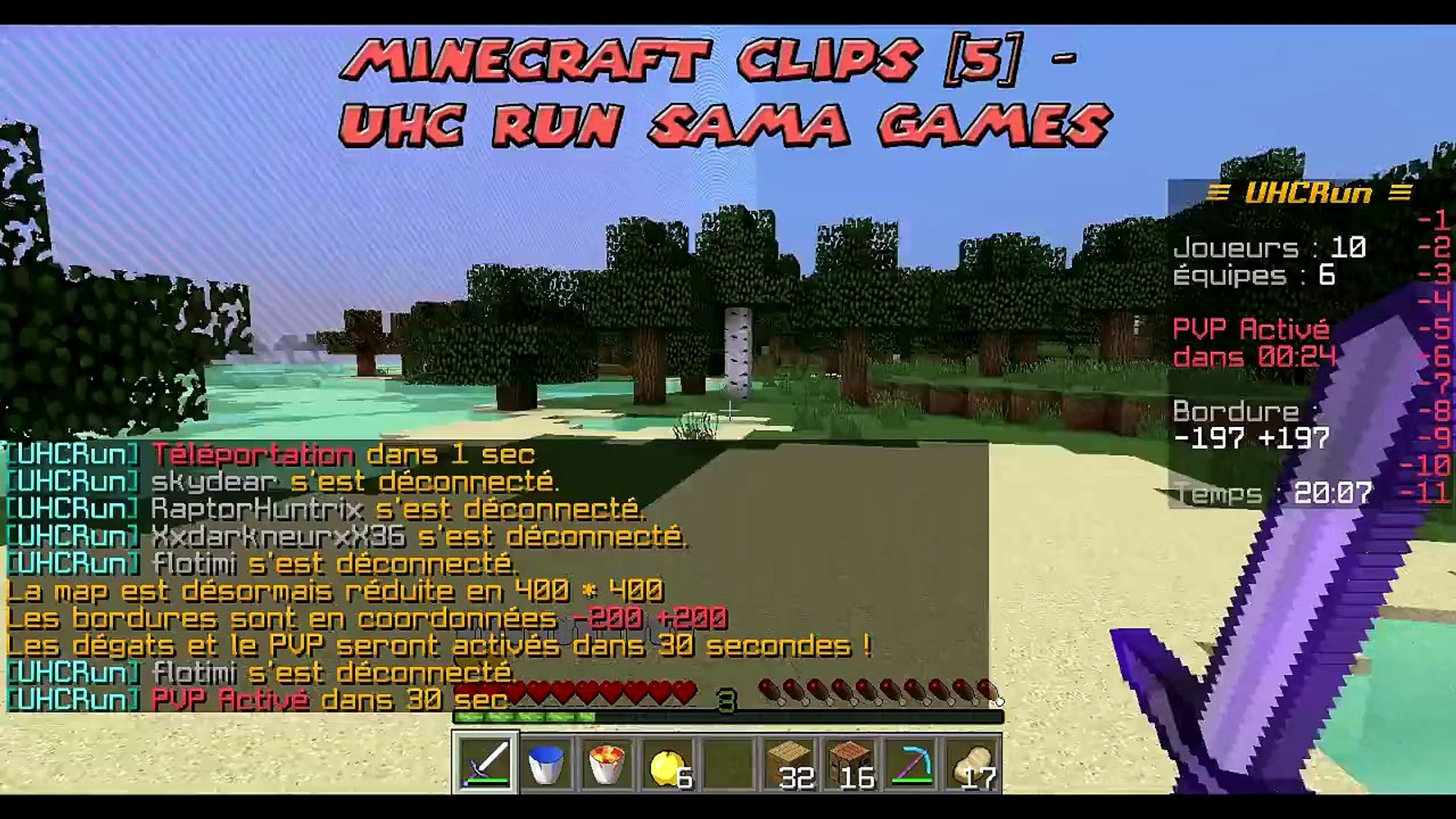 Minecraft Clips [12] - UHC Run Sama Games