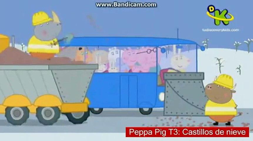 Peppa Pig T3: Castillos de nieve