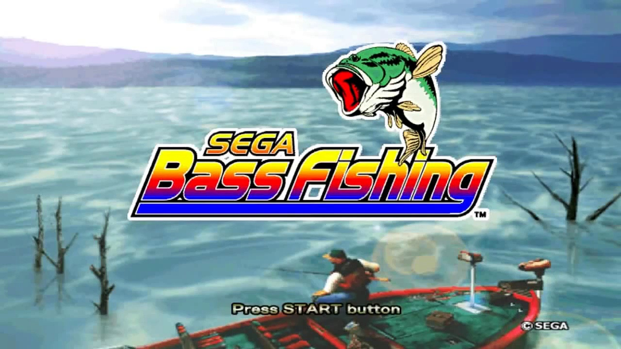 Sega Bass Fishing voice acting