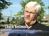 Bath City Beat - Mount Clemens Sewer Stenciling Program