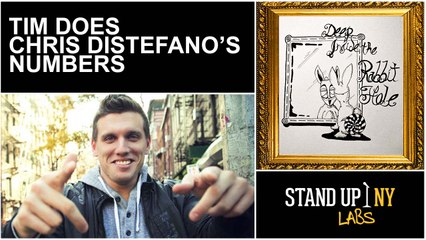 Tim Does Chris Distefano's Numbers