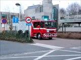 Brandweer Beveren - Vertrek naar uitslaande woningbrand