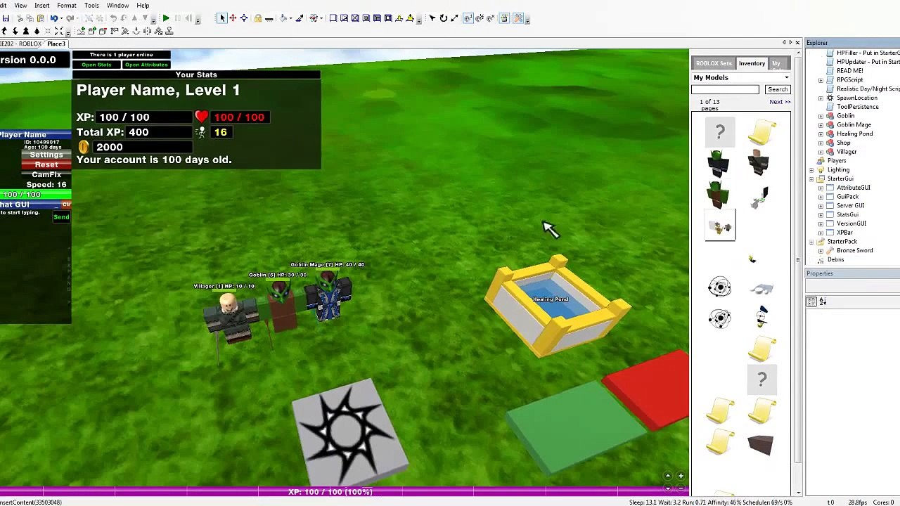 Roblox Tutorial How To Make A Good Rpg Game Video Dailymotion