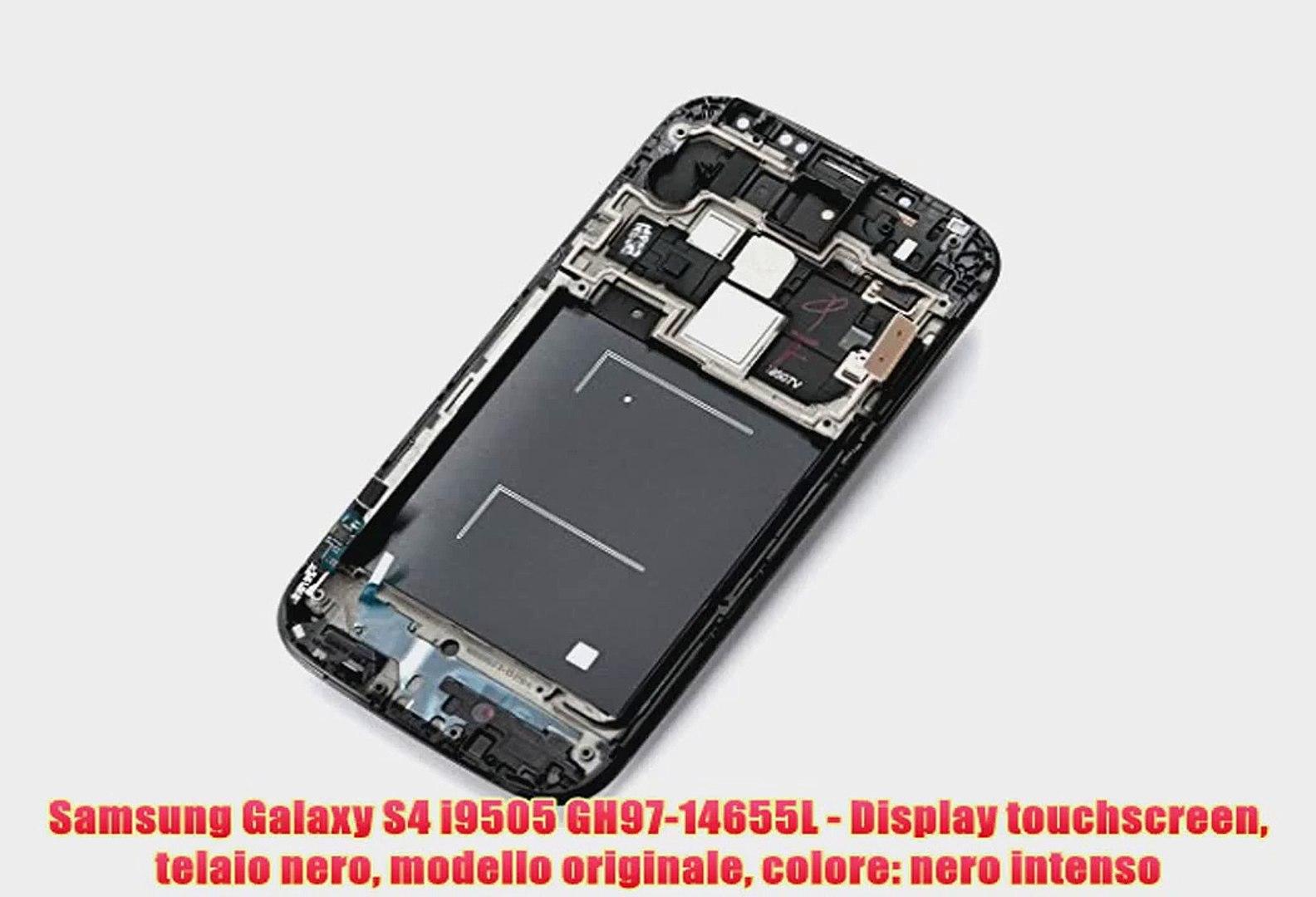 Samsung Galaxy S4 i9505 GH97-14655L - Display touchscreen telaio nero modello originale colore: nero