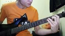 3 Doors Down-Kryptonite Guitar Intro tutorial
