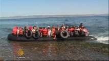 Al Jazeera encounters Syrian refugees on Greek island