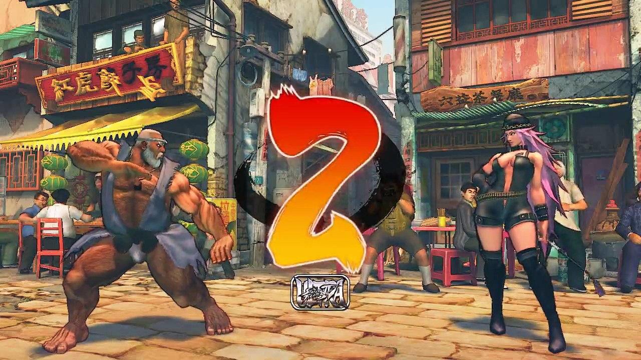 Ultra Street Fighter IV Gen vs Gouken fundoshi mod - YouTube