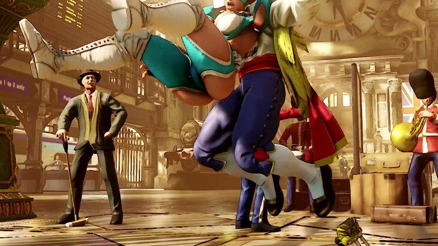 [HD] Street Fighter V - Rainbow Mika Gameplay Trailer [1080p]