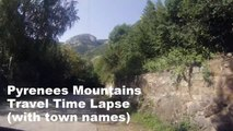 Travel in the Pyrenees (GoPro Timelapse 60x Speed)