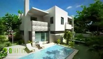 Yantram 3D Exterior Design, 3D Architectural Rendering, 3D Exterior Modeling, 3D Exterior rendering.