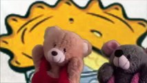 Little Jack  Horner Puppets Show | Teddy Bear Cartoon Rhymes |  Puppet Show For Children