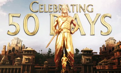 Baahubali - The Beginning 50 Days Trailer