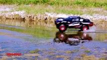 Slash 4X4 : Voiture RC qui roule sur l'eau