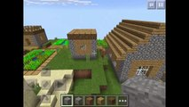 TOP 3 VILLAGE SEEDS - Minecraft Pocket Edition 0.11.1+/0.12.1+ - Seed Showcase