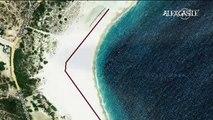 La spiaggia di Los Frailes in Messico, scompare affondando a 100 metri in una sola notte!