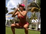 MICHELLE LEWIN   Fitness Model  Toning exercises for Glutes, Butt, Legs and Thighs @ Venezuela   You