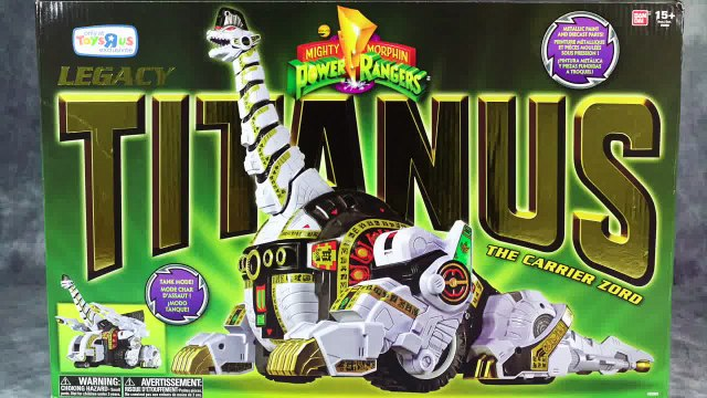 Legacy Titanus   Mighty Morphin Power Rangers