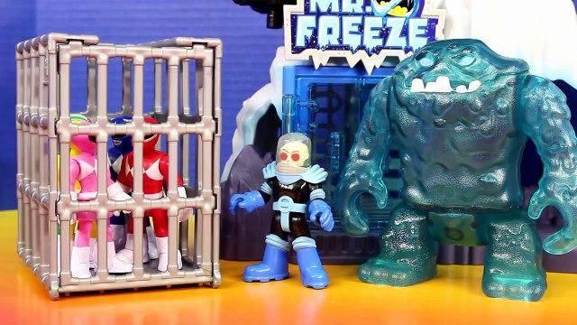 Imaginext Mighty Morphin Power Rangers Black Ranger Mastodon Zord Battle Rita Repulsa Saves Friends