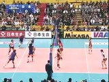 2006 世界女排錦標賽 臺灣VS日本 World Championships Taiwan VS Japan set 1