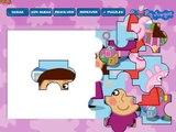 Peppa Pig Puzzle. Свинка Пеппа - Пазлы. Смотреть прохождение игры | Peppa Pig russian