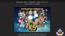 Dragon Ball Heroes: 5th Anniversary and new Heroes announced HD