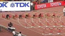 Championnats du Monde d'Athlétisme - 100m haies : Rollins passe, Ivancevic chute