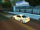 GTA SA Nissan Skyline GT-R 34 2F2F Nissan 350 Z FnF Tokyo Drift tunable [ LINK !!!]