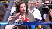 """Emmanuelle Cosse: """"C'est un moment difficile pour nous"""""""