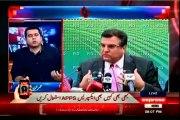 EXPRESS Takrar Imran Khan with MQM Asif Hasnain (25 August 2015)