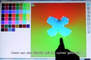 An Interactive Multi-touch Sketching Interface for Diffusion Curves (CHI 2011)
