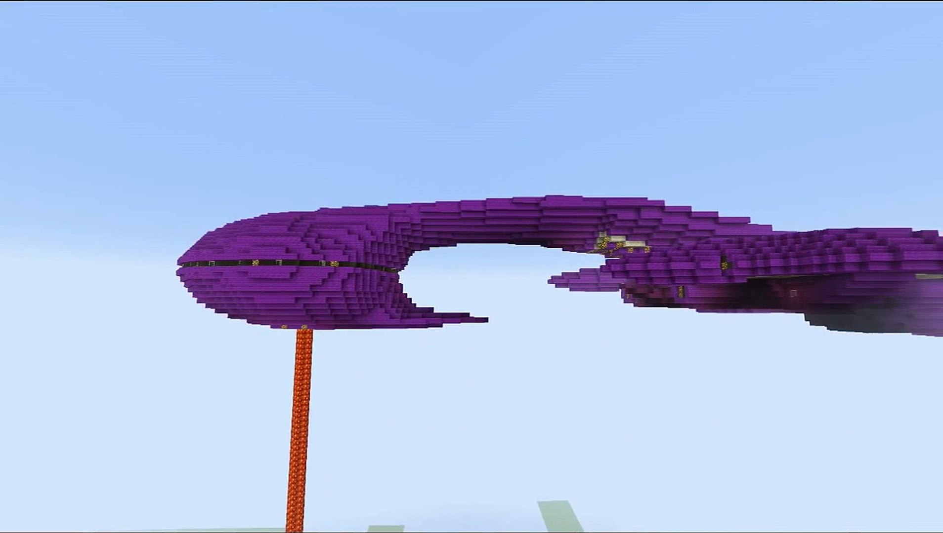 Minecraft-Halo Covenant Assault Carrier