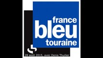 Interview Teddy Savic sur France Bleu Touraine (28 août 2015)