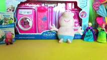 Peppa Pig teaches you how to use Disney Frozen household appliances (Feat Elsa & Anna)