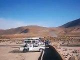 visita a geysers el Tatio, cordillera de los Andes