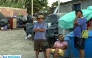 Así son los campamentos instalados por deportados en Villa del Rosario