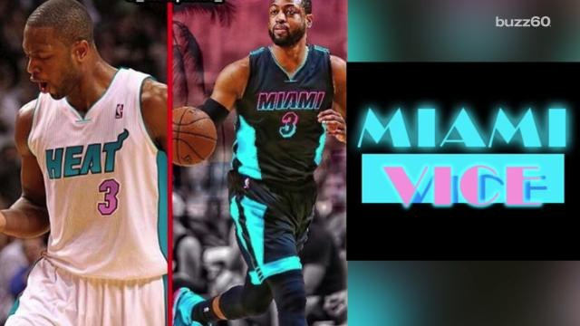 Miami Heat jerseys could get 'Miami Vice' style re-vamp