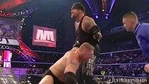 Undertaker vs Brock Lesnar - Biker Chain Match - WWE No Mercy 2003 Wrestling