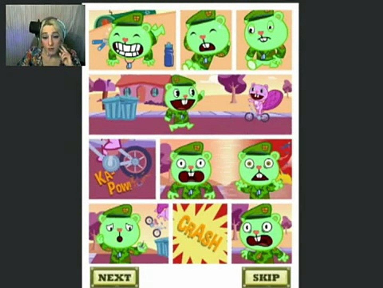 Flip N Slide Happy Tree Friends Aggravated Asphalt Video
