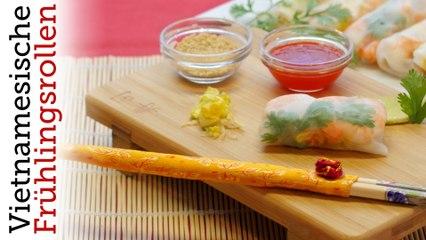 Rezept - Vietnamesische Frühlingsrollen (Red Kitchen - Folge 338)