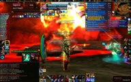 Fallen Legion vs. Ragnaros (40 man raid, last week of vanilla WoW)