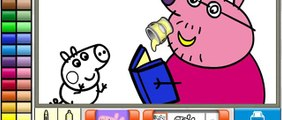 Colouring Games   Peppa Pig Pig Painting Games     Peppa Coloring Pages 2015 NEW Peppa Pig Colou