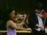 Kyung Wha Chung & Cho Liang Lin play Bach - Concerto for 2 Vs- BWV 1043