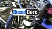 diesel care fuel filter bracket kits - filter change instructions