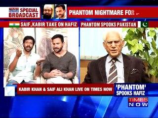 Saif Ali Khan and Kabir Khan Face Off Ahmad Raza Kasuri – 28th August 2015- Phantom Movie Banned