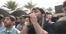 Beta hai tu ali ka zehra ki tu dua hai, shahid biltastani at karbala iraq